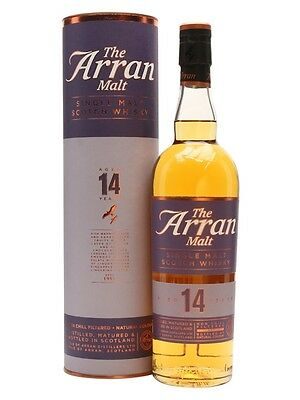 The Arran 14 Year Old Single Malt Scotch Whisky 700ml
