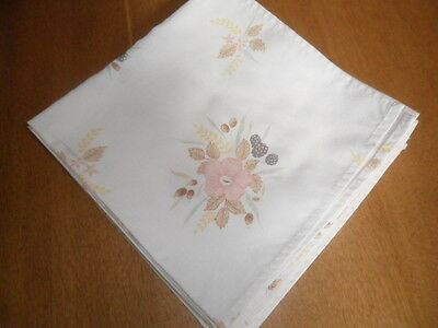Boots Hedge Rose Napkins X 4
