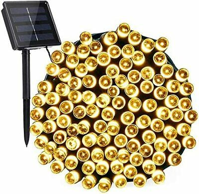 100/200LED Solar Power String Fairy Light Outdoor XMAS Party Lamp Waterproof OZ