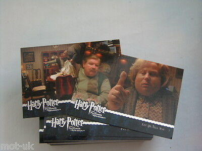 HARRY POTTER Prisoner of Azkaban Update Full 90 Card Base Set Trading Cards