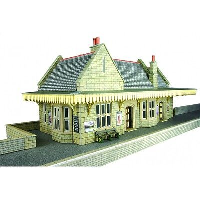 PO238 00/H0 Stone Built Wayside Station Metcalfe Model Kit Building