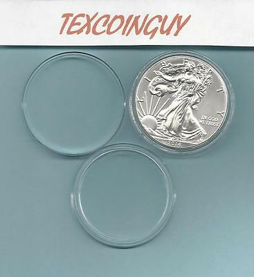 Air-tite H-40 Direct Fit Coin Holder Capsules for American Silver Eagles /& 50