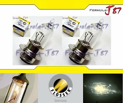 EIKO PX15d T-6 12V 25/25W A-3603 TWO BULB HEAD LIGHT REPLACE DUAL BEAM HIGH LOW