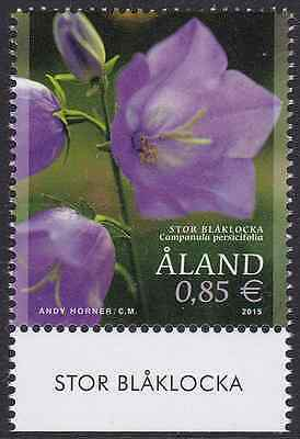 ALAND - 2015 - Peach-Leaved Bellflower. Individual Stamp, 1v. Mint NH