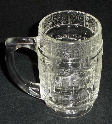 Heavy Dad's Rootbeer Clear Glass Mug - No Reserve