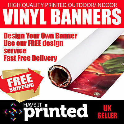 Personalised Outdoor Printed Vinyl PVC Business Banners Sign Advertising Shop