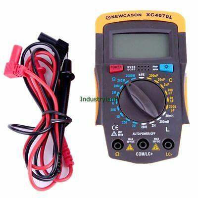 XC4070L LCR RCL Uctance Capacitance Digital Multi Meter 1pF to 200uF SUS