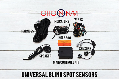 Blind Spot Sensor Warning Detection System for Toyota Vehicles