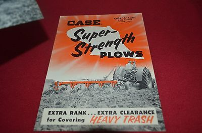 Case Tractor A Series Super Strength Plows Dealer's Brochure AMIL8