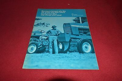 Ford Tractor 1969 Buyers Guide Dealer's Brochure AMIL8