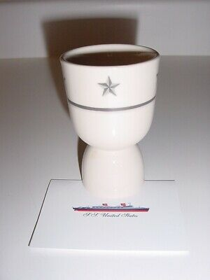 SS UNITED STATES LINES  Set of (4) Egg Cups...Top Condition
