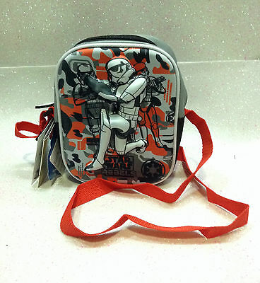 Star Wars Storm Trooper Star Wars Rebels Borsa Tracolla Borsello 3D Shoulder Bag