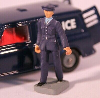 Policeman Figure for Corgi 448 Police Mini Van Set (Reproduction-Painted)