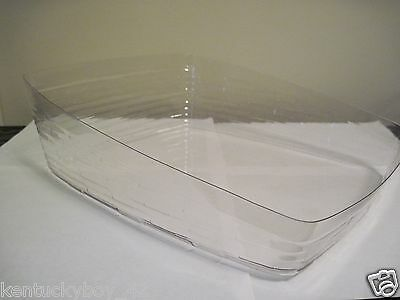 PLASTIC  PROTECTOR (ONLY) for Longaberger Tapered Paper Tray Basket NEW
