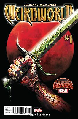 Weirdworld #1 (2015) 1St Printing Secret Wars Tie-In Bagged & Boarded
