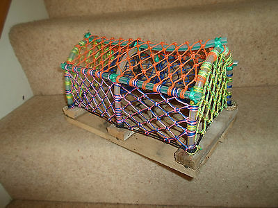 FAB QUIRKY Small Crab Trap ~ For Display Sea Food~Bistro Cafe Restaurant~Shop #2