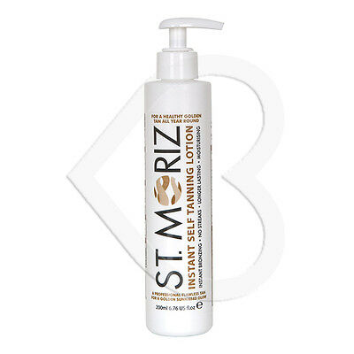 St Moriz Instant Self Tanning Lotion Medium 200ml