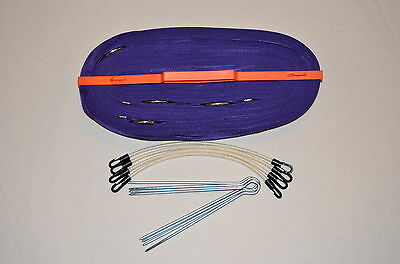"Beach Volleyball Boundary Lines - 2"" 9m Only - Purple"