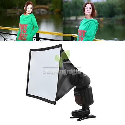 Mini Portable Soft Box Diffuser Flash Speedlight For Canon Nikon Sony 15*17cm