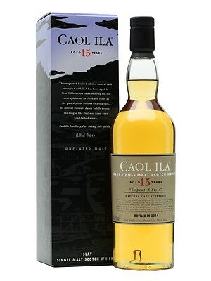 Caol Ila 15 Year Old Unpeated Special Release Single Malt Scotch Whisky 700ml