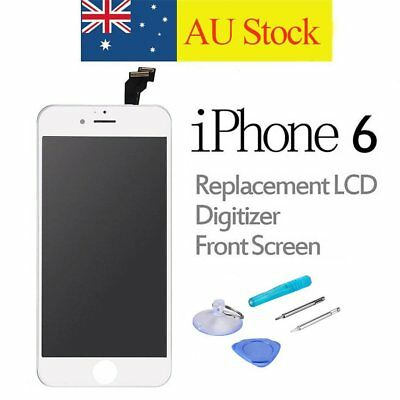 For iPhone 6 LCD Touch Screen Replacement Display Digitizer Assembly White+Tools