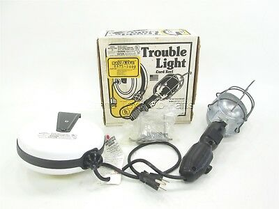 """NEW General Manufacturing Trouble Light 2575-2000 Incandescent 75W 20"""" Reel"""