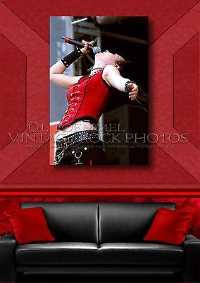 Amy Lee, Evanescence 20x30 Fine Art Gallery Canvas Framed Gilcee Print Photo L20