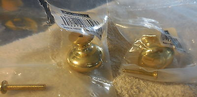 "New Brass Liberty drawer,door handle pull,,1 1/4"" wide,knob,lot of 2,p30930c-pl"
