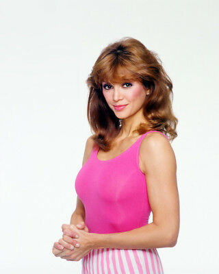 Victoria Principal 8x10 Photo in tight workout costume