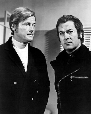 Roger Moore Tony Curtis The Persuaders! 16x20 Photo classic TV Poster