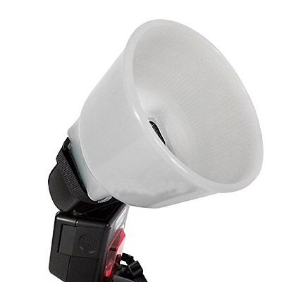 US Cloud Lambency Flash Diffuser + White Dome Cover and fits All Flash Universal