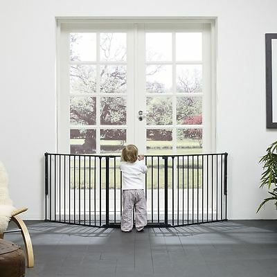 BabyDan Baby and Child Configure Safety Gate - Large Black