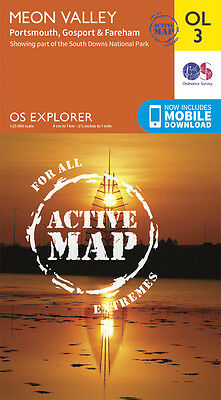 MEON VALLEY ACTIVE Map - OL 3 - OS - Ordnance Survey - INC. MOBILE DOWNLOAD