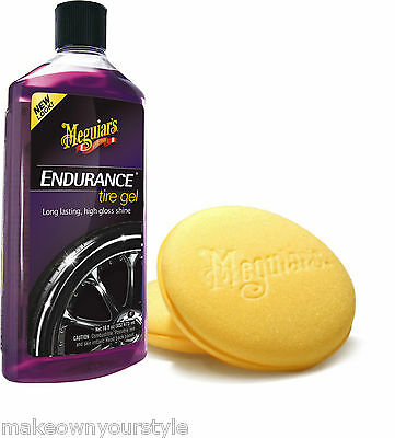 Pulitore Gomme Meguiar's Endurance con applicatore