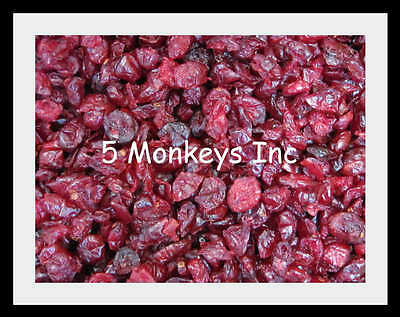 Cranberries Dried ~ Dried Fruit Snacks ~ Treats Cranberry ~ 4 or 8 Ounces