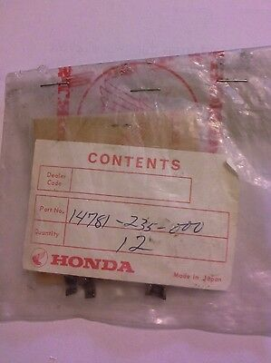 NOS Honda SL175 Cotter Valve, part # 14781-235-000 freeshipUS/CAN