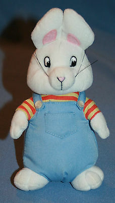 "Ty Max Plush 7"" Stuffed Animal Max & Ruby TV Show Toy Rabbit"