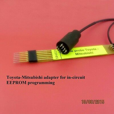 Toyota_Mitsubishi pogo adapter for in-circuit EEPROM programming