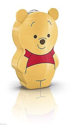 Philips Winnie The Pooh Children's Pocket Torch and Night Light Integrated LED