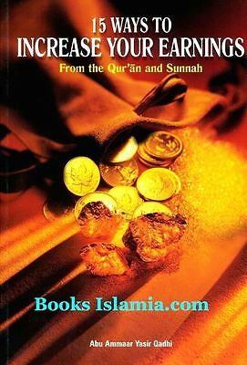 15 Ways to Increase Your Earnings: From the Qur'an and Sunnah