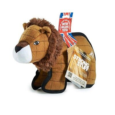 Strong Stuff Tuff Lion Dog Chew Toy