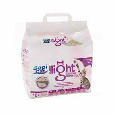 Sepicat Lightweight Clumping Cat Litter Odour Control 10ltr