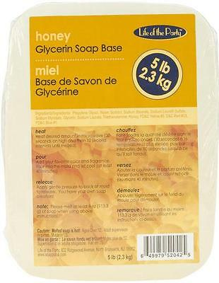 Life of the Party Glycerin Soap, 5-Pound, Honey