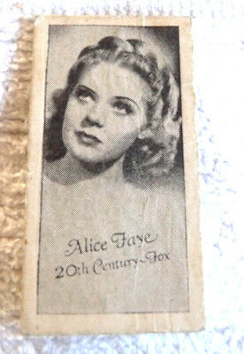 Real Photo Card Alice Faye Movie Star Peerles Scales  The Owl Drug Store
