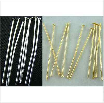 New Arrive! Wholesale DIY Silver/Gold Plated Eye's Pins&Needles Jewelry Finding