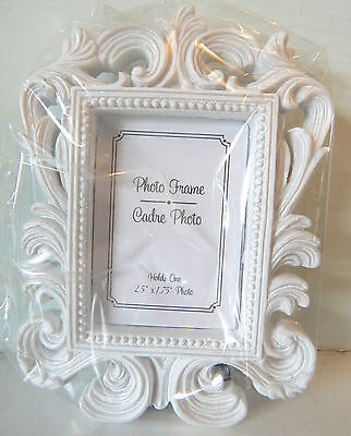 2 x Shabby Chic Louis Rococo Baroque Photo Frame / Wedding Place Name Holder