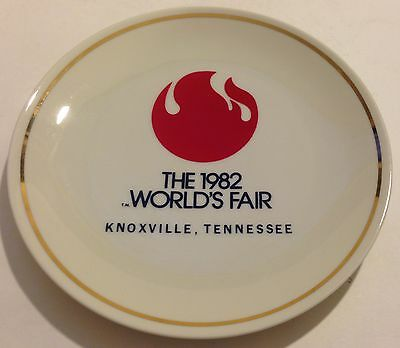 The 1982 World's Fair Knoxville Tennessee Collector Plate