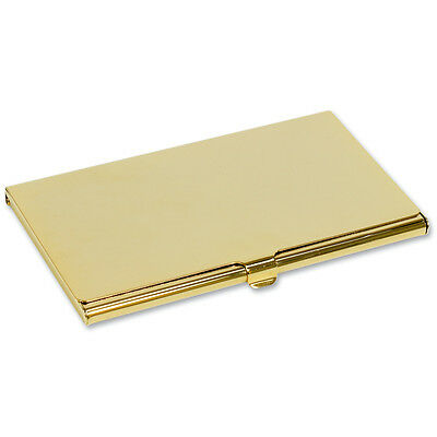 Gold Plated Business Card Holder - Great Gift (BC5)