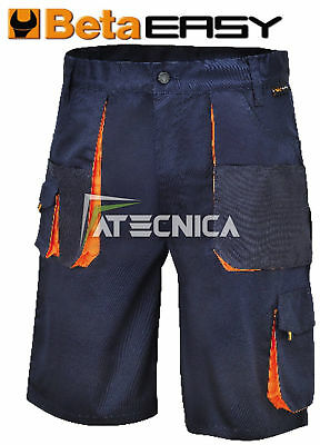 Bermuda da lavoro Beta Work  7871E  easy twill 180gr professionale