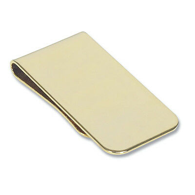 Mens Gold Plated Money Clip Cash Note Holder For Wallet- Great Gift (MC6)